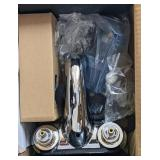 Delta classic sink faucet in box