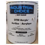 Rust-Oleum DTM Water-Based Acrylic, Green,