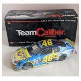 Team caliber 1:24 diecast Jimmy Johnson car