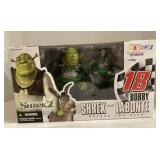 Shrek and Bobby Labonte action figure .
