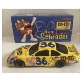 Ken Schrader 1:24 scale m&m car
