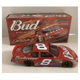 Dale Earnhardt Jr 1:24 scale Budweiser car .