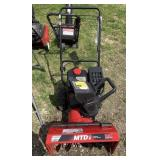 """MTD PowerMore 179cc OHV 22"""" compact snow thrower"""