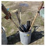 Lot of assorted tools bucket not included