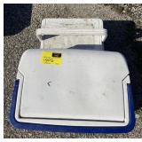 Lot of assorted ice coolers