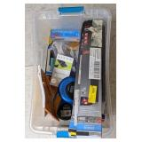 Box of Various Items incl. Amplified Antennas,