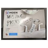 Moen lindor 84504 bathroom faucet box states