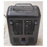 Omniheat electric utility fan heater