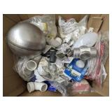 Various items lot Including staples plastic and