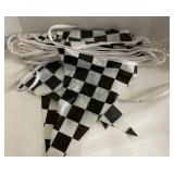Checkered flag rope