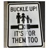 Buckle up it