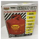 Type 1 safety can  For storage of gasoline and