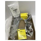 Assorted items Wire 26 ga. Loctite static mix