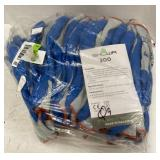 12 pack work gloves rubber palms