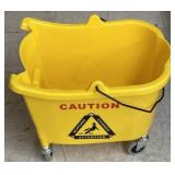 Tough guy mop bucket on wheels