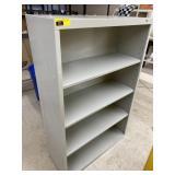 "Metal cabinet  52 1/2"" high x 34 1/2"" wide x 13"