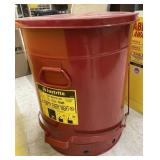 21 gal oily waste can