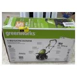 Green works electric cultivator  11 inch