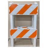 Plastx Barricade Leg Frame, 13P882. Bidding 1xqty