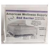 America Wellness Supply Bed Barrier, King.