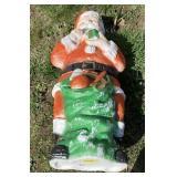 Poloron Santa blow mold