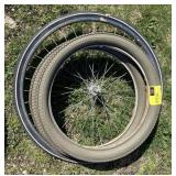 Lot of assorted bike tires