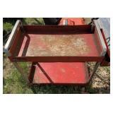 Mac Tools red cart