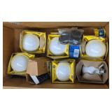 GE soft white 40 watts light lot