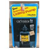 Simer Submersible Utility Pump, 2305