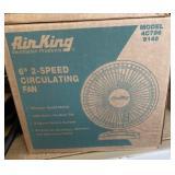 """Airking 6"""" 2 speed circulating fan"""
