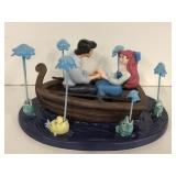 """WDCC """"Kiss the Girl"""" Ariel and Eric w/ box"""