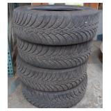 Goodyear 235/65R18 Ultra Grip Ice Tires *bidder