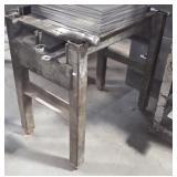 Industrial Steel Work Stand.  Contents not
