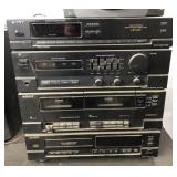 Sony Radio and RCA Speakers