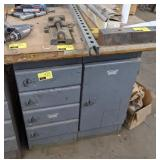 """Workshop Cabinet Table measuring 35"""" x 30"""" x 36"""""""