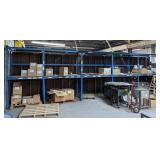 Thick Steel Shelving Made of Angle and Channel