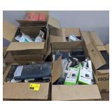 Box of Electronics Incl Ergonomic Keyboard/Mouse,