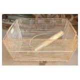 Small Metal Crate
