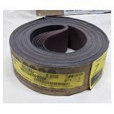 Klingspor Abrasive Belts. Grade P280. Size 2in x