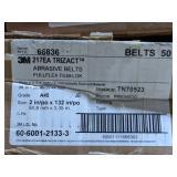 3M Trizact Abrasive Belts. Grade A45. Size 2in x