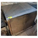 Metal Storage Cabinet with Contents