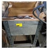 Rolling Cart with Contents