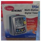 Cooper-Atkins Multi Station Digital Timer Model