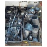 Pallet of Machining Parts