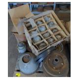 Pallet of Machine Parts, and Lamp Parts