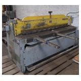 "Pexto Shear Machine, unknown model, can cut 60""W"