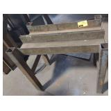Industrial metalworking stand