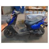 Yamaha Moped Scooter. Turns Over. 17146miles. No