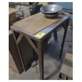 Custom Steel Work Stand