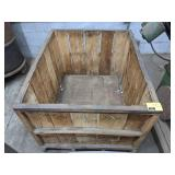 """Wooden Crate measuring 29"""" x 32"""" x 27"""""""